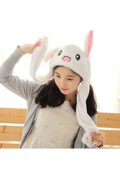 Buyfun Tavşan Şapka Hareketli Tavşan Kulakları (Yurt Dışından)