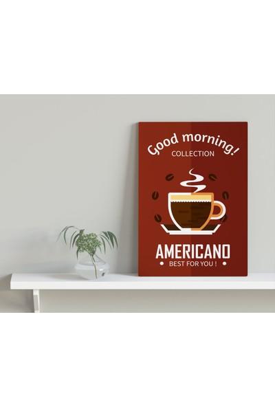 Bitmeyen Kartuş Bk Home Coffee Tasarımlı Kanvas Tablo 30X50CM-8