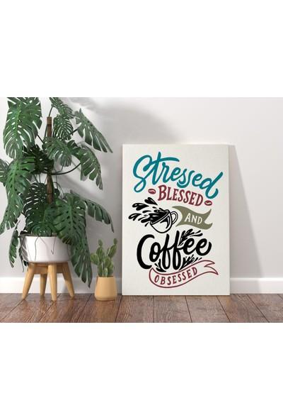 Bitmeyen Kartuş Bk Home Coffee Tasarımlı Kanvas Tablo 70X100CM-3