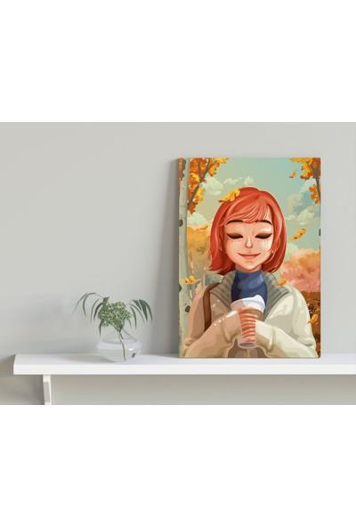 Bitmeyen Kartuş Bk Gift Coffee Tasarımlı Kanvas Tablo 30X50CM-1