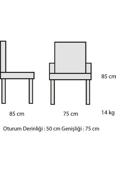 Decosit Paşa Bahçe Balkon Oturma Koltuğu - Ekru