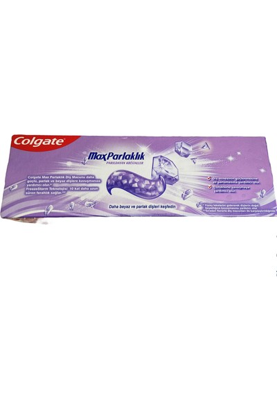 Colgate Parlayan Kristaller Max Parlaklık Diş Macunu 50 ml