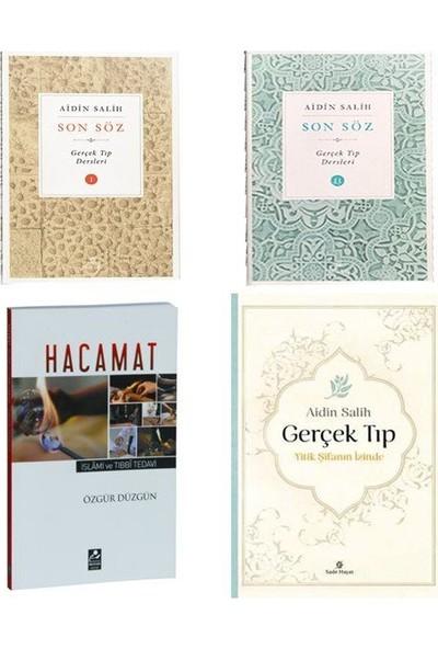 Aidin Salih Gerçek Tıp Son Söz Kitapları ve Hacaamat 4 Kitap Set