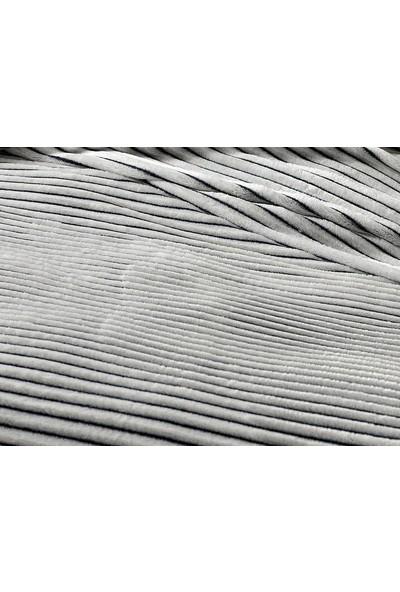 Unicolor Çok Amaçlı Süper Soft Tek Kişilik Battaniye ve Yatak Örtüsü Soft Antrasit