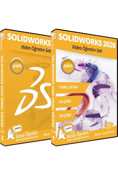 Sanal Öğretim Solidworks 2020 Eğitim Seti