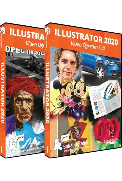 Sanal Öğretim Adobe Illustrator 2020 [Öğrenme Seti & Uygulama Seti]