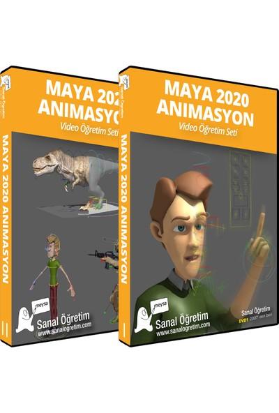 Sanal Öğretim Maya 2020 Animasyon Öğretim Seti