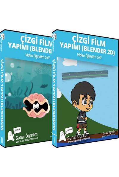 Sanal Öğretim Çizgi Film Yapımı (Blender 2D) Eğitim Seti