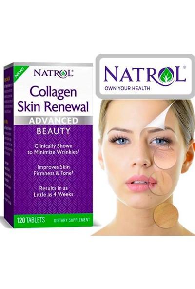 Natrol Collagen Skin Renewal Advanced 120 Tablets