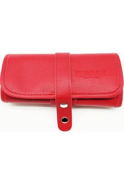 Bback 602 Kırmızı Bölmeli Rulo Kalemlik 19.5X45