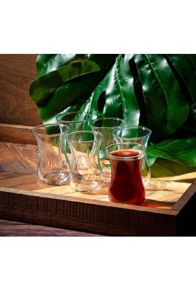 Termisil Isıya Dayanıklı 6`lı Çay Bardağı