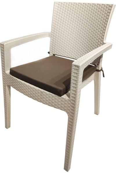 Derya Ticaret Sandalye Minderi 6'lı 40X45CM Fermuarlı