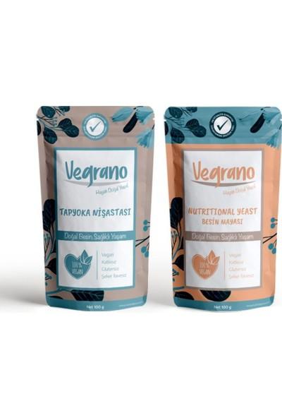 Vegrano Tapyoka Nişastası 100 gr + Vegrano Nutritional Yeast (Besin Mayası) 100 gr
