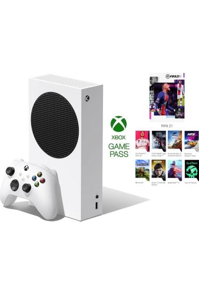Microsoft Xbox Series S Oyun Konsolu Beyaz 512 GB + 3 Ay Gamepass Ultimate ( Microsoft Türkiye Garantili )