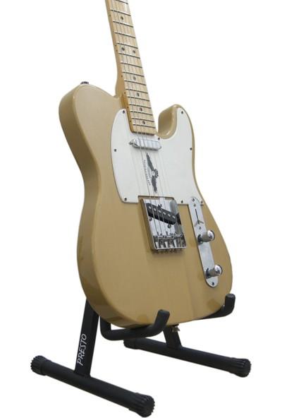 Presto PRS01 Elektro Gitar Sehpası Standı + Gitar Askısı ve Pena
