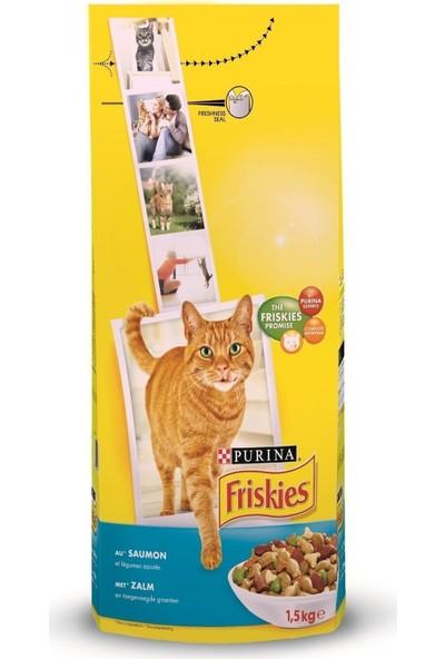 Friskies Tavuklu ve Sebzeli Yetişkin Kedi Maması 1.7 kg x 2 Adet