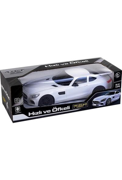 Can-Em Oyuncak Hızlı ve Öfkeli Uzaktan Kumandalı Beyaz Yarış Arabası