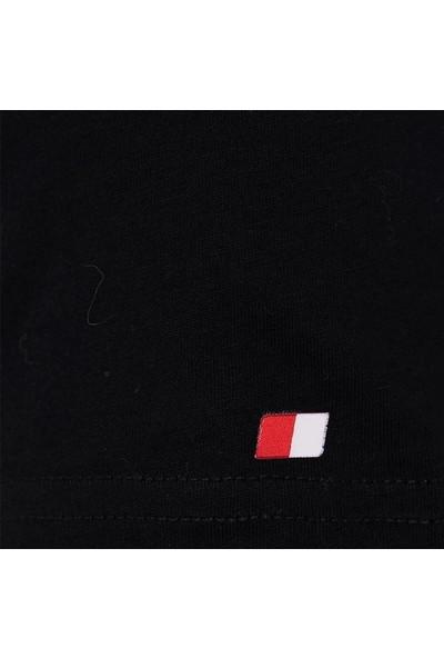 John Frank Basic T-Shirt Siyah JFTBA01