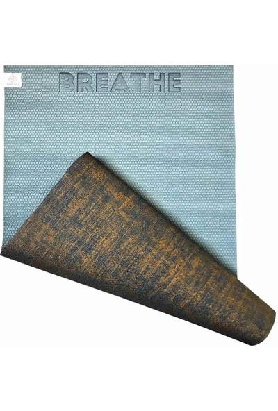 Seeka Yoga Jüt Yüzeyli Yoga Matı - Mavi