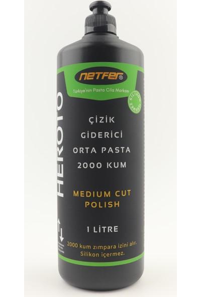 Netfer Heroto Orta Çizik Giderici Pasta - 1 lt