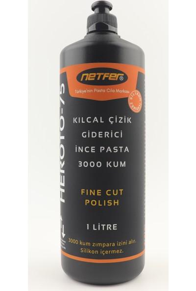 Netfer Heroto-75 Kılcal Çizik Giderici İnce Pasta - 1 lt