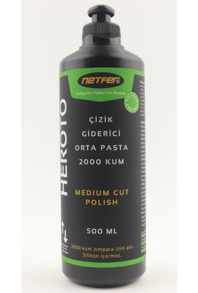 Netfer Heroto Orta Çizik Giderici Pasta - 500 ml