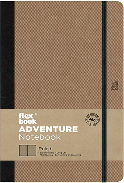 Flex Book Adventure Camel 13X21 cm Çizgili Not Defteri 71