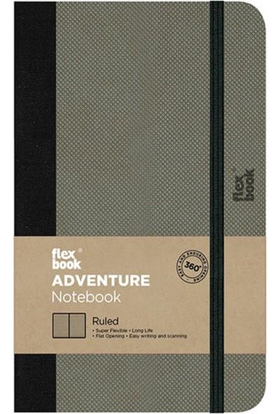 Flex Book Adventure Elephant 9x14 cm Çizgili Not Defter 73