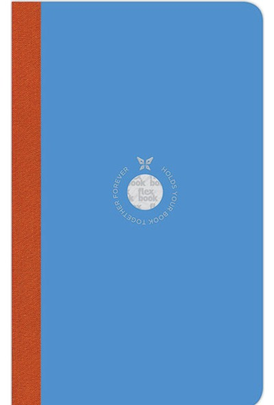 Flex Book Esnek 13x21 cm Mavi Çizgili Akıllı Not Defteri 2100047