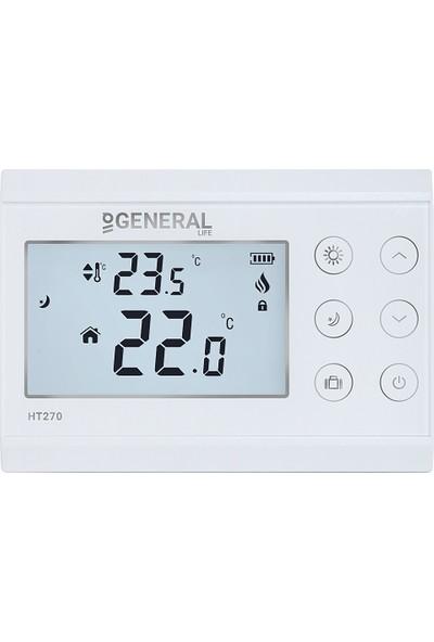 General HT270 Mod Seçenekli Kablolu Oda Termostatı
