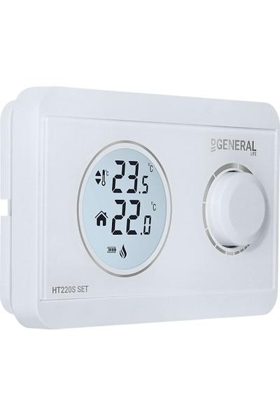 General Ht220S Set Dijital Kablosuz Oda Termostatı