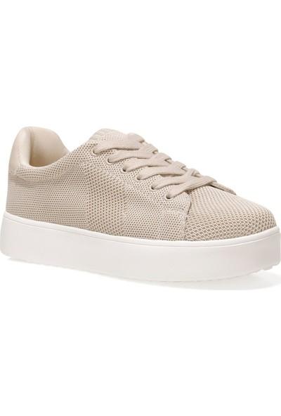 Nine West Ulonıa 1fx Bej Kadın Sneaker Ayakkabı
