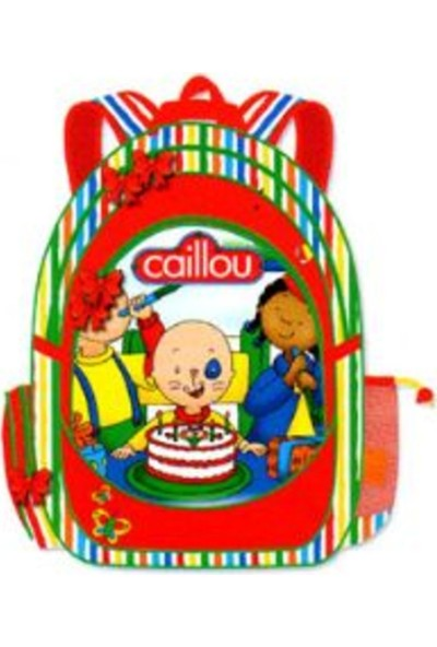 Caillou 0869 Anaokulu Okul Çantası
