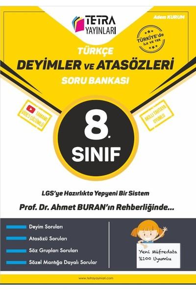 Tetra Yayınları 8.sınıf Türkçe Deyimler ve Atasözleri Soru Bankası