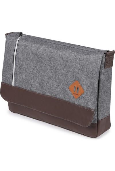 Strong 15.6 Inch Laptop Bölmeli Omuz Askılı Postacı Çantası KFT04