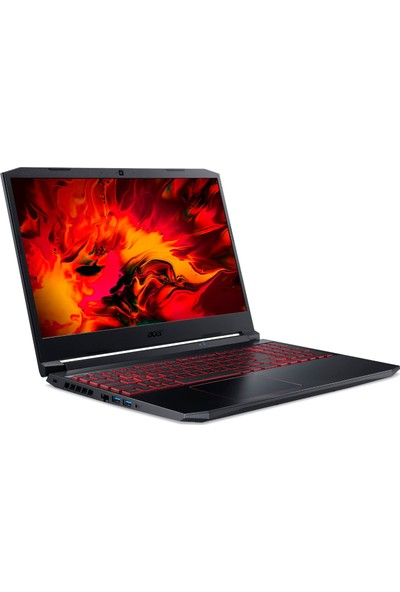 "Acer Nitro AN515-55 Intel Core i5 10300H 8GB 512GB SSD GTX 1650Ti Linux 15.6"" FHD Taşınabilir Bilgisayar NH.Q7JEY.006"