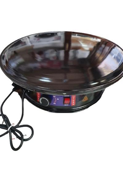Mutsan 55CM Jumbo Elektrikli Termostatlı Gözleme Katmer Sacı