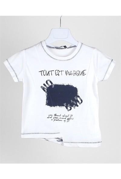 Jack Lions Erkek Bebek Çapraz Kesim Tshirt