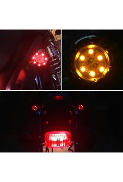 Knmaster Oval Motosiklet LED Sinyal Takımı
