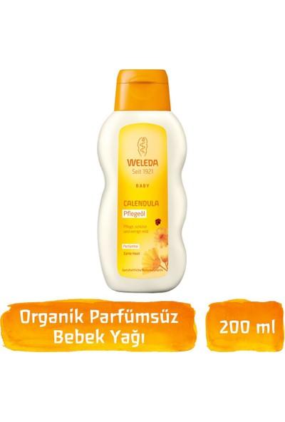 Weleda Calendula Organik Parfümsüz Bebek Yağı 200ml
