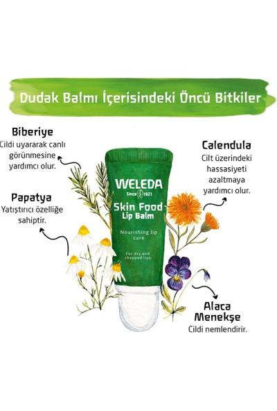 Weleda Skin Food Organik Besleyici Dudak Balmı 8 ml