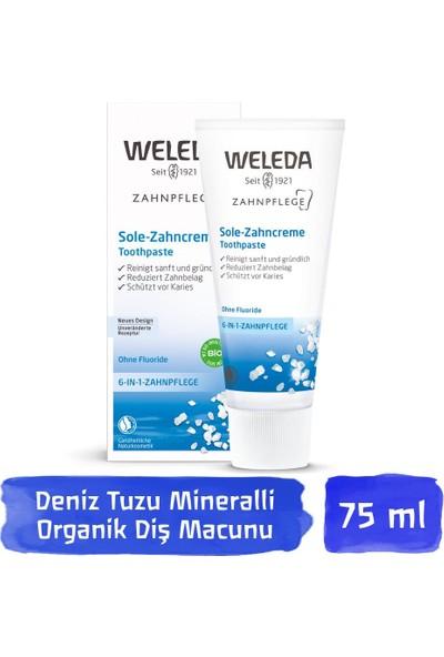 Weleda Deniz Tuzu Mineralli Organik Diş Macunu 75 ml