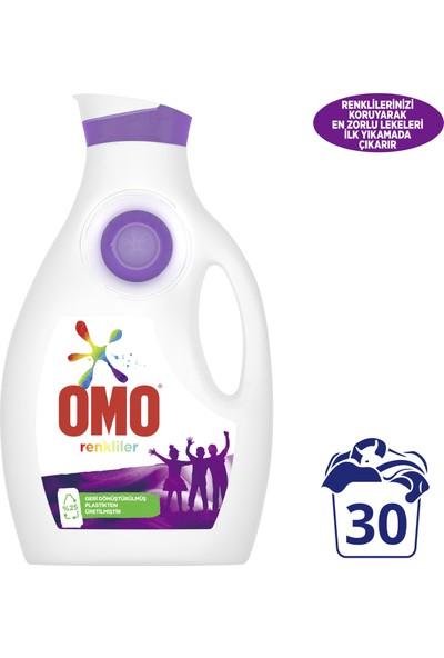 Omo Renkliler Sıvı Çamaşır Deterjanı 1950 ML 30 Yıkama