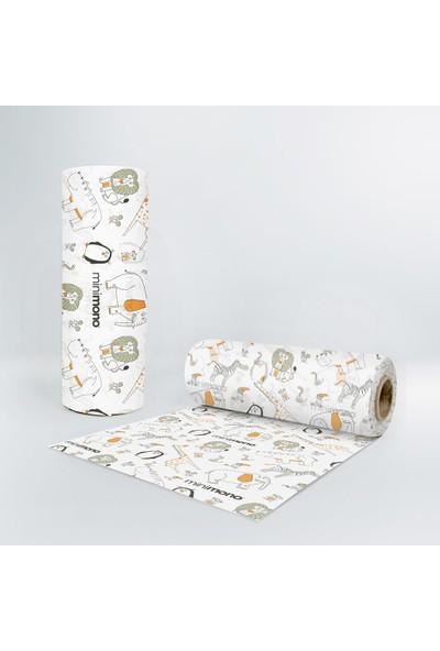 Minimono Mama Sandalyesi & Aktivite Örtüsü 100 x 120 cm - 30 Adet