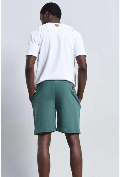 Utah Short Yeşil Erkek Nakışlı Şort