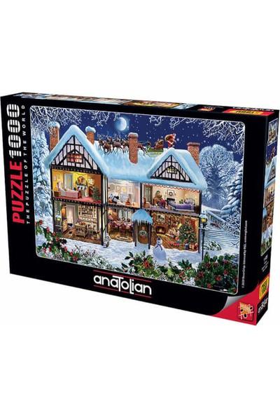 Anatolian puzzle 1000 Parça Yılbaşı / Season House Puzzle