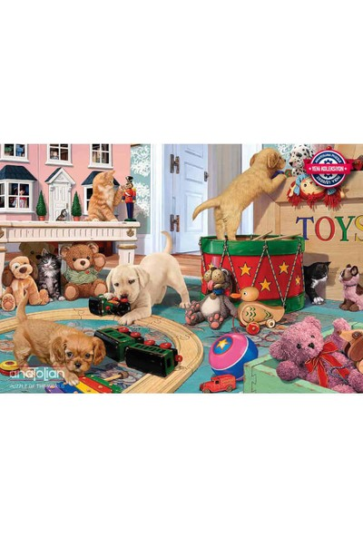 Anatolian puzzle 260 Parça Eğlenceli Oyunlar / Puppies Play Time