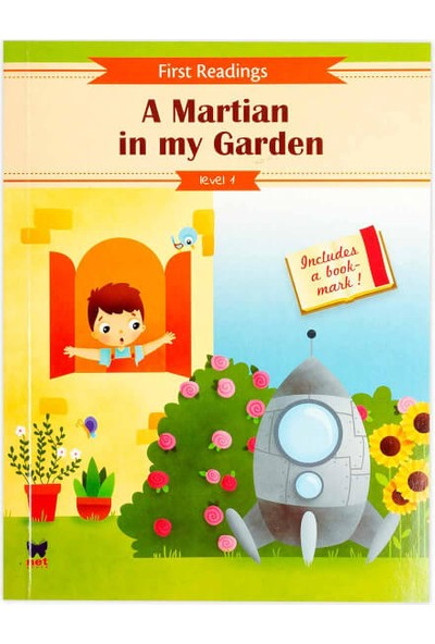 A Martian İn My Garden Level 1-First Readings