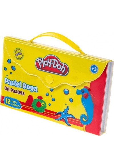 Play-Doh Pastel Boya Çantalı 12 Renk Pa005