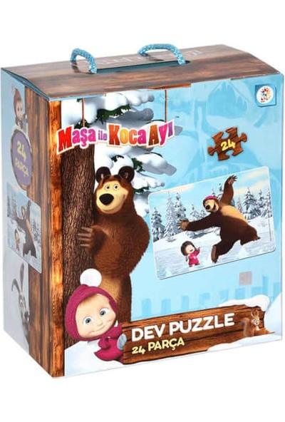 Laço Kids Maşa İle Koca Ayı Dev Puzzle 24 Parça